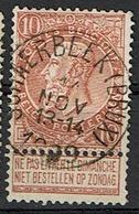 57 Obl  Schaerbeeck (BXL) - 1893-1900 Schmaler Bart