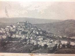 Casoli..... Panorama........cartolina 1940 - Italia
