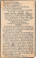 Haaltert, 1937, Alina Mailly, De Ryck - Imágenes Religiosas