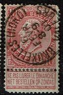 58  Obl   BXL (Nord) Valeurs  Coins!!  + 8 - 1893-1900 Schmaler Bart