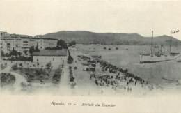 20 , AJACCIO , Photo L Cardinali , Arrivée Du Courrier , * 398 55 - Ajaccio