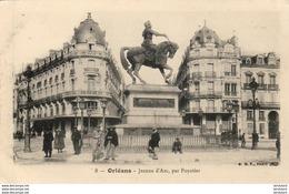 D45  ORLEANS  Jeanne D' Arc, Par Foyatier   ..... - Orleans