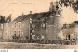 D41  AVARAY  Le Château ( Côté Ouest )  ..... - France