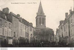 D24  EXCIDEUIL  Place De L'Eglise - Frankrijk
