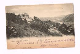 Souvenir De Dinant.Le Château De La Haut.Expédié à Hautmont (Nord/France) - Dinant