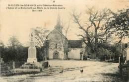 23 , ST DIZIER LES DOMAINES , Eglise Et Monument Aux Morts , * 404 28 - France
