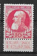 OBP74 Postfris** - 1905 Grosse Barbe
