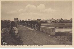 [50] Manche > Blainville Sur Mer Le Pont Et Les Chalets - Blainville Sur Mer