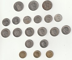 Monnaies Suisse ( Lots 20 Monnaies ) - Zwitserland