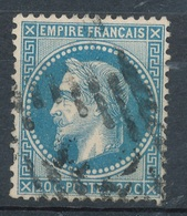 N°29 LOSANGE EVIDE. - 1863-1870 Napoléon III. Laure