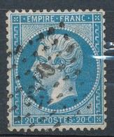 N°22 LOSANGE PETITS CHIFFRES. - 1862 Napoléon III.