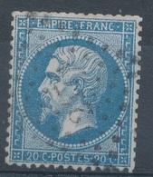 N°22 LOSANGE PETITS CHIFFRES. - 1862 Napoléon III