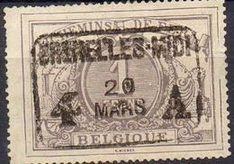 BELGIQUE ! Timbre Ancien Des CHEMINS De FER De 1882 N°13 ! SUPERBE ANNULATION ! - Mint