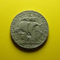 Portugal 2 1/2 Escudos 1948 Silver - Portogallo