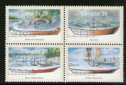 CANADA 1990  BATEAUX   YVERT N°1135/38 NEUF MNH** - Bateaux