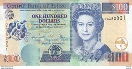 Belize P.71d 100 Dollars 2017 Unc - Belize
