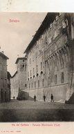 Bologna -    Via  Des  Carbone -  Palazzo  Municipale. - Bologna
