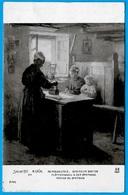 """CPA Art Salon 1913 Tableau """"Repasseuses - Intérieur Breton"""" Par M. GRÜN * Métier Femme Travail Bretagne - Peintures & Tableaux"""