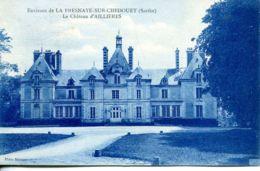 N°873 T -cpa La Fresnaye Sur Chedouet -le Château D'Aillières- - Autres Communes