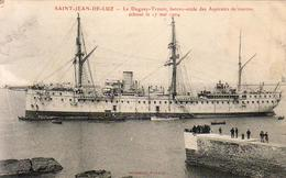 D64  SAINT JEAN DE LUZ Le Dugay Trouin échoué Le 17 Mai 1904  .......... CARTE PEU COURANTE - Saint Jean De Luz