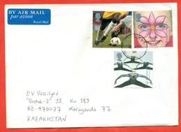 Great Britain 2001.The Envelope Past Mail.Airmail. - 1952-.... (Elizabeth II)