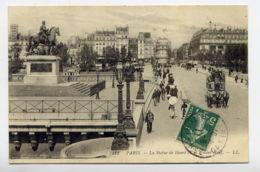 75*PARIS-Statue De Henri IV Et Le Pont Neuf - Paris (01)