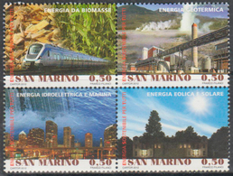 San Marino 2012 Correo 2309/12 Año Internacional De La Energia Sostenible (4v) - Ongebruikt