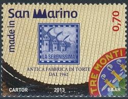 San Marino 2013 Correo 2347 Hecho En San Marino   **/MNH - Neufs