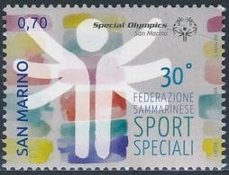 San Marino 2014 Correo 2385 30 Aniv. De La Fundación De Deportes Especiales.  * - San Marino
