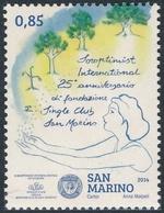 San Marino 2014 Correo 2383 25 Aniv. De La Fundacion Soroptimist  **/MNH - San Marino