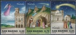 San Marino 2014 Correo 2407/9 Navidad 2014 (3v)  **/MNH - Ongebruikt
