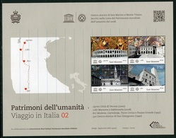 San Marino 2014 Correo 2402 MH Unesco Patrimonio Humanidad -II- Mini Hoja   **/ - Saint-Marin