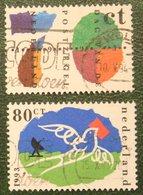 Dag Van De Postzegel Vogel Bird Oiseaux NVPH 1573-1574 (Mi 1490-1491); 1993 Gestempeld / USED NEDERLAND / NIEDERLANDE - 1980-... (Beatrix)