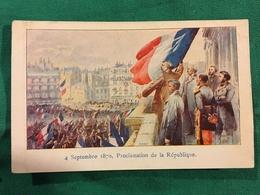 B032. 4 SEPTEMBRE 1870. PROCLAMATION DE LA REPUBLIQUE. - Eventi