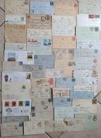 Lot De Lettres, Marques Postales Et Documents France, Europe, Monde    XIX Et XXème Siècle - Postmark Collection (Covers)