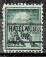 USA Precancel Vorausentwertung Preo, Locals Missouri, Hazelwood 804 - Vereinigte Staaten