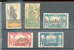 GAB 331 - YT 82 à 85 - 87 ° Obli - Gabun (1886-1936)