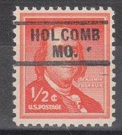 USA Precancel Vorausentwertung Preo, Locals Missouri, Holcomb 729 - Vereinigte Staaten