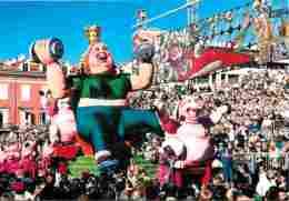 06 - Nice - Le Carnaval - Le Roi Du 3e Millénaire - Reine Fit Reine - Voir Scans Recto-Verso - Carnaval