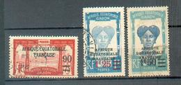 GAB 333 - YT 110 - 11 - 112  ° Obli - Gabon (1886-1936)