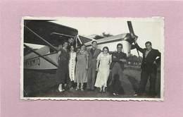 AVION - Modèle à Identifier (photo Années 50/60 Format 10,8cm X 6,4cm ) - Aviazione