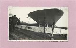 AVION - Modèle à Identifier (photo Années 50/60 Format 11cm X 6,5cm ) - Aviazione