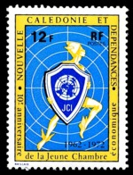 NOUV.-CALEDONIE 1972 - Yv. 385 **   Cote= 2,50 EUR - Jeune Chambre Economique  ..Réf.NCE25127 - Nouvelle-Calédonie