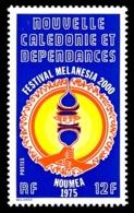 NOUV.-CALEDONIE 1975 - Yv. 394 **  - Festival Melanesia 2000, Nouméa  ..Réf.NCE25139 - Neukaledonien