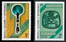 NOUV.-CALEDONIE 1972 - Yv. 382 Et 383 NEUF   Cote= 4,50 EUR - Oreiller De Bois ; Hache Ostensoir  ..Réf.NCE25124 - Nouvelle-Calédonie