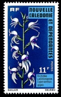 NOUV.-CALEDONIE 1975 - Yv. 393 **   Cote= 4,00 EUR - Orchidées : Lyperanthus Gigas  ..Réf.NCE25138 - Nouvelle-Calédonie