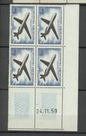 PA 40 Caravelle - Coin Daté 24 11 59 - Sans Charnière Ni Trace - 1927-1959 Neufs