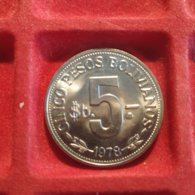 Bolivia 5 PESOS 1978 - Bolivia