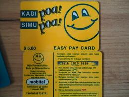 PANAMA USED PREPAID CARDS - Panama
