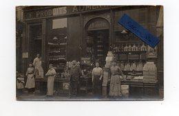 CPA PHOTO - 92 - SAINT-CLOUD - MAISON E. BARRIERE - Produits Alimentaires Cachet Postal Départ St CLOUD 1906 - Saint Cloud